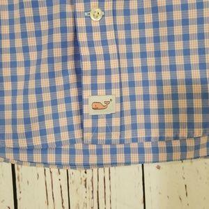 Vineyard Vines Shirts - Vineyard Vines Blue & White Check NWOT